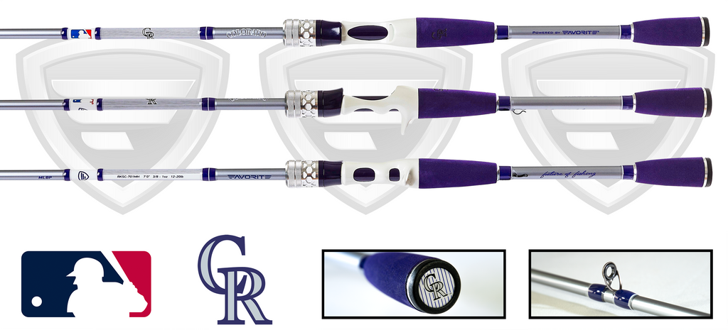 Colorado Rockies Casting Rod