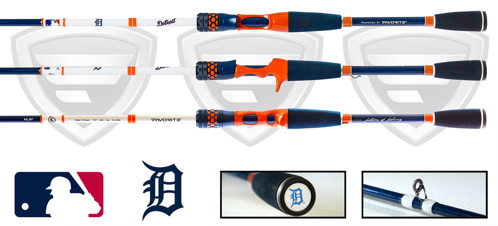 Detroit Tigers Casting Rod