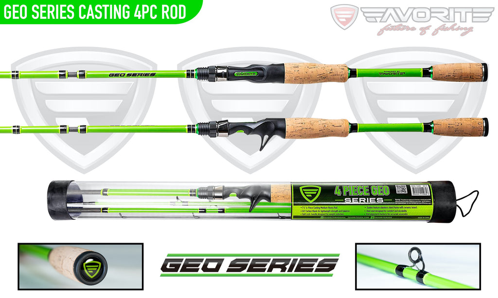 Viridian Geo Series 4pc Casting Rod