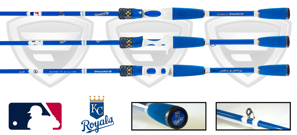 Kansas City Royals Casting Rod
