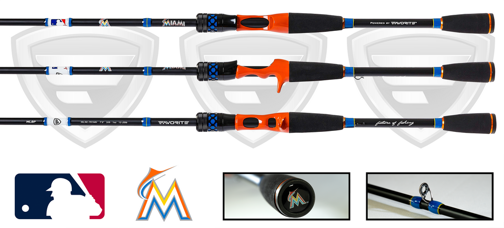 Miami Marlins Casting Rod