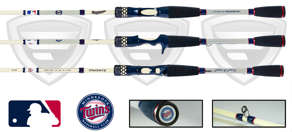 Minnesota Twins Casting Rod