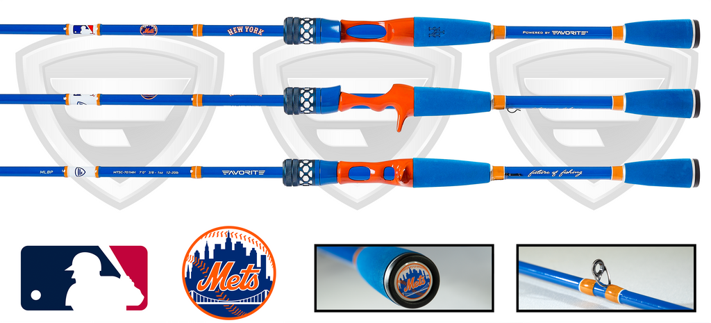New York Mets Casting Rod