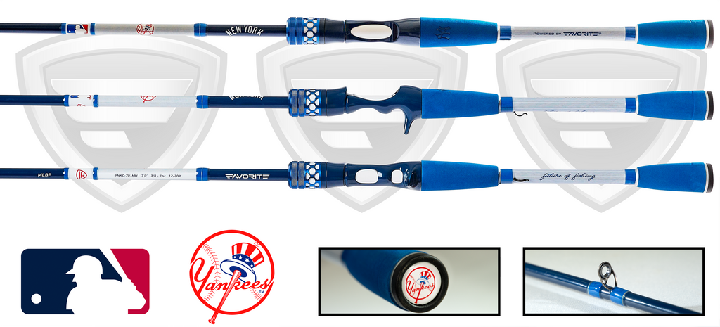 New York Yankees Casting Rod