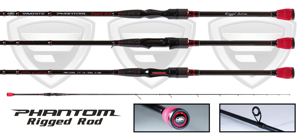 Rigged Spinning Rod 2 Piece Rod