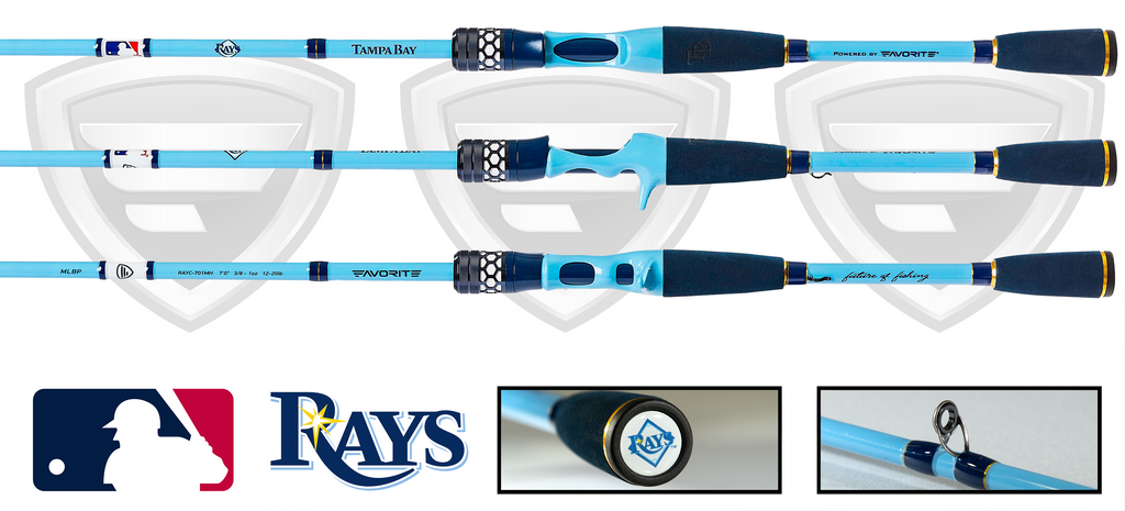 Tampa Bay Rays Casting Rod