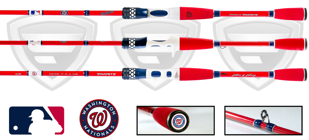Washington Nationals Casting Rod