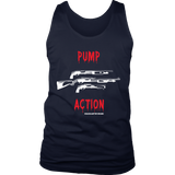 Pump Action White Guns Tank
