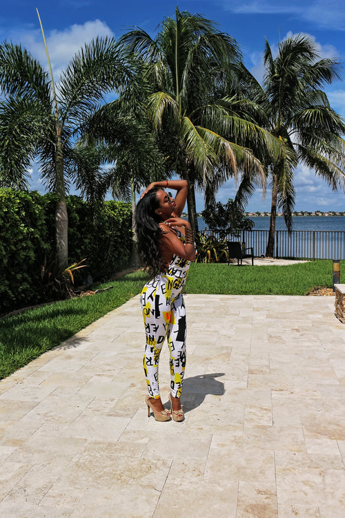 Crazy In Love Jumpsuit - Semai House Of fashion