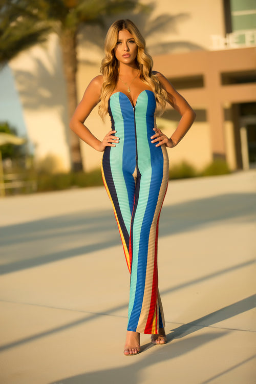 Alyshia - Crossed The Line Jumpsuit