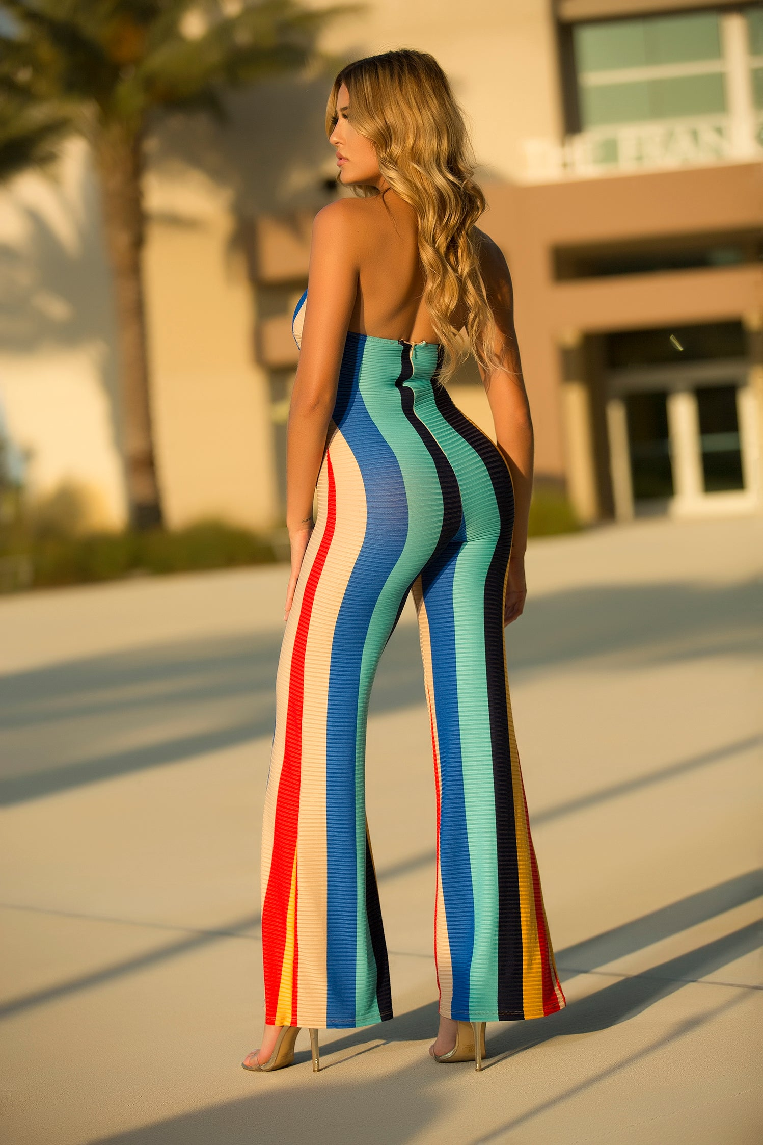 Alyshia - Crossed The Line Jumpsuit - Semai House Of fashion