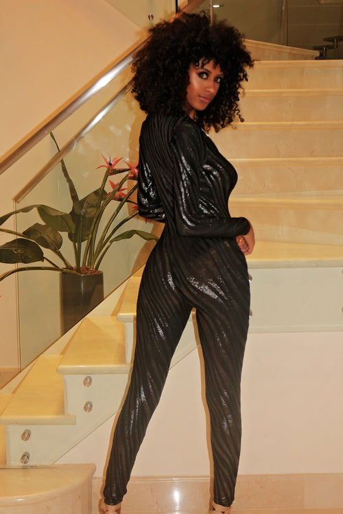 Glitter Through Shine-Jumpsuit - Semai House Of fashion