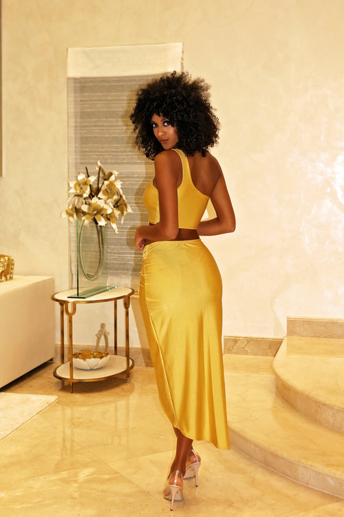 Kim K Gold Set - Semai House Of fashion