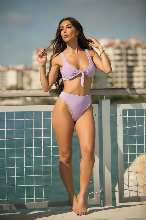 Nessa - Lavender Crush 2 Piece Swimsuit