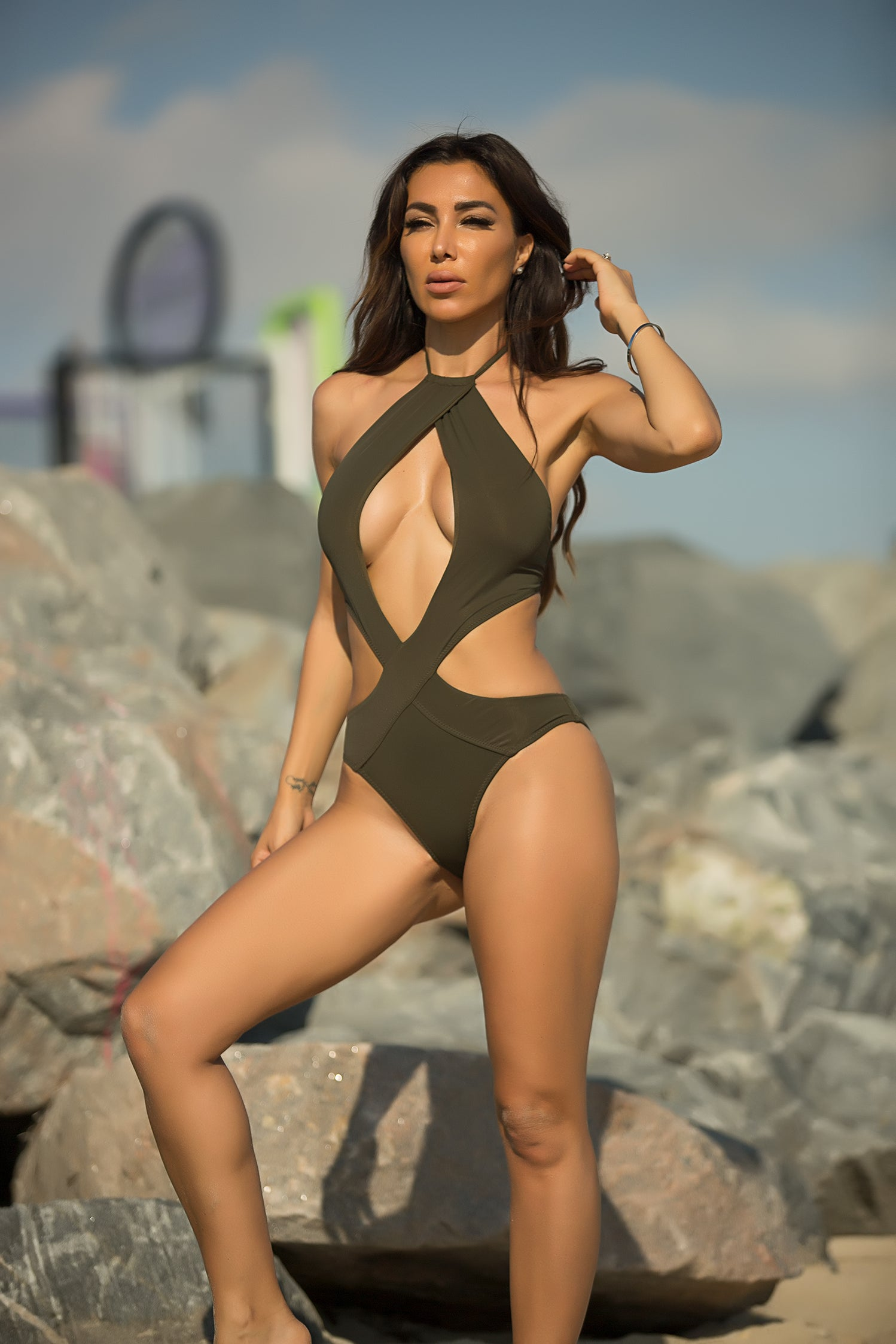 Felicia - Love Ocean Swimsuit - Semai House Of fashion
