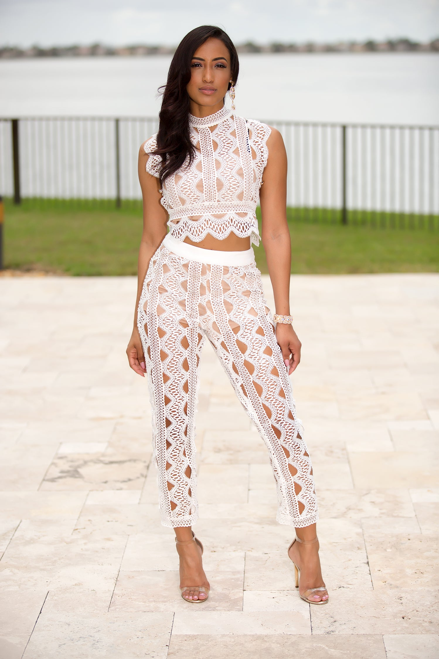 Milena - Beach Day Pant Set - Semai House Of fashion