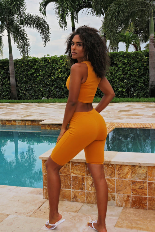 Mya - Active Set - Mustard Back