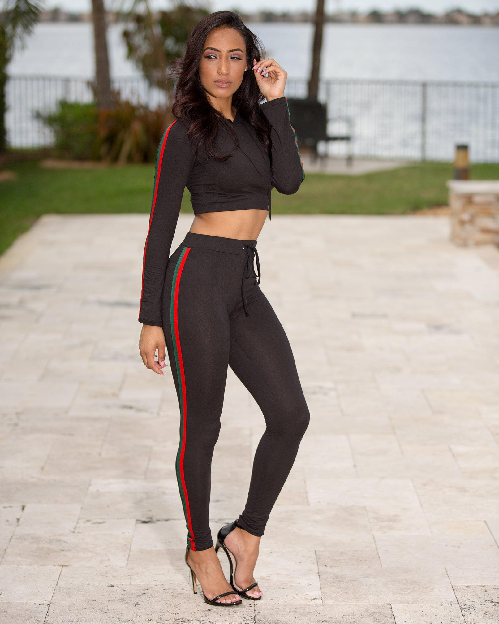 Lyric- Outside The Lines Pant Set - Semai House Of fashion