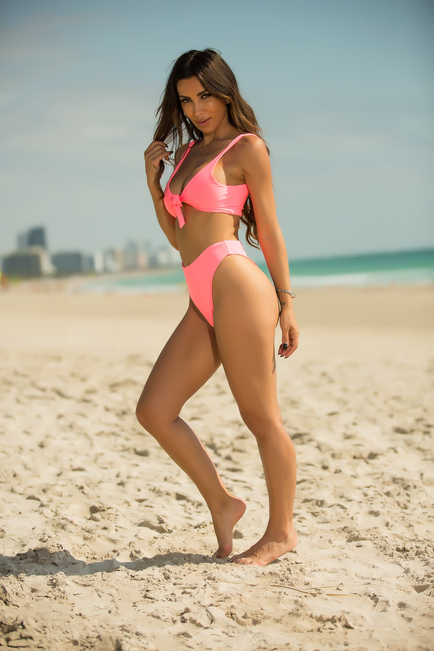 Nessa - Pink Crush 2 Piece Swimsuit - Semai House Of fashion
