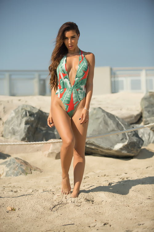 Private Island Vibes Cardigan Swimsuit