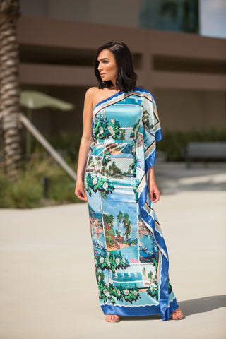 Vacation Bound Maxi Dress - Green