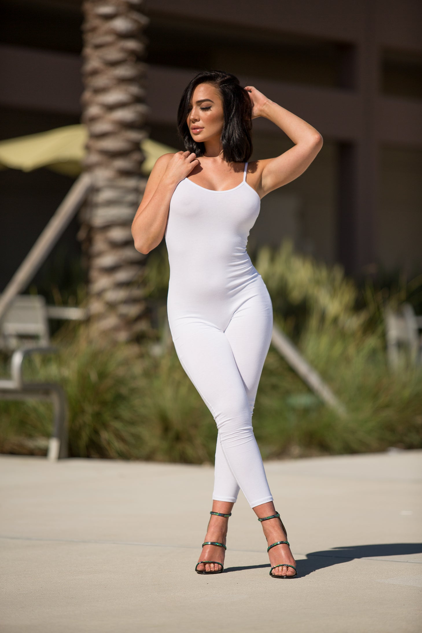 SHOF - All Season Jumpsuit - White - Semai House Of fashion
