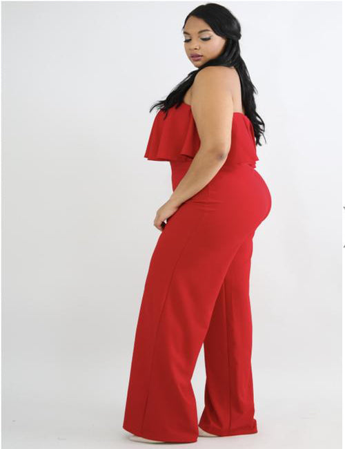 Diana -Plus Size Jumpsuit - Semai House Of fashion