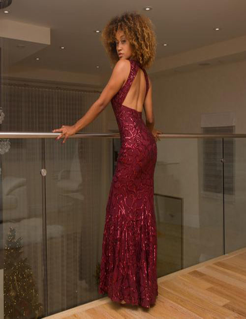 Noelle Evening Gown - Semai House Of fashion