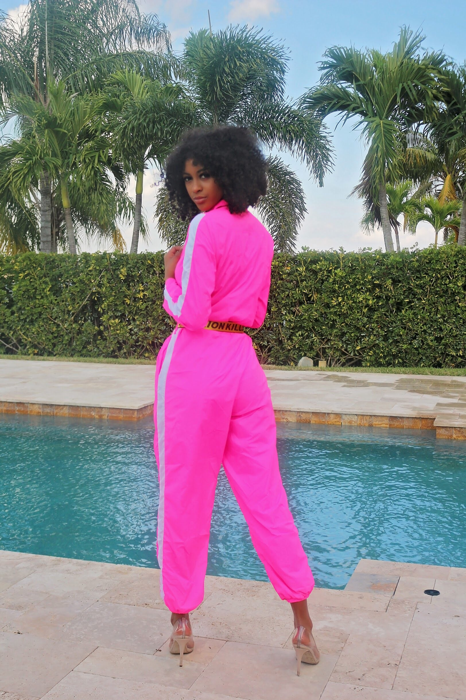 ee5d9f27c138e Fashion Hot Pink Jumpsuit - Semai House Of fashion ...