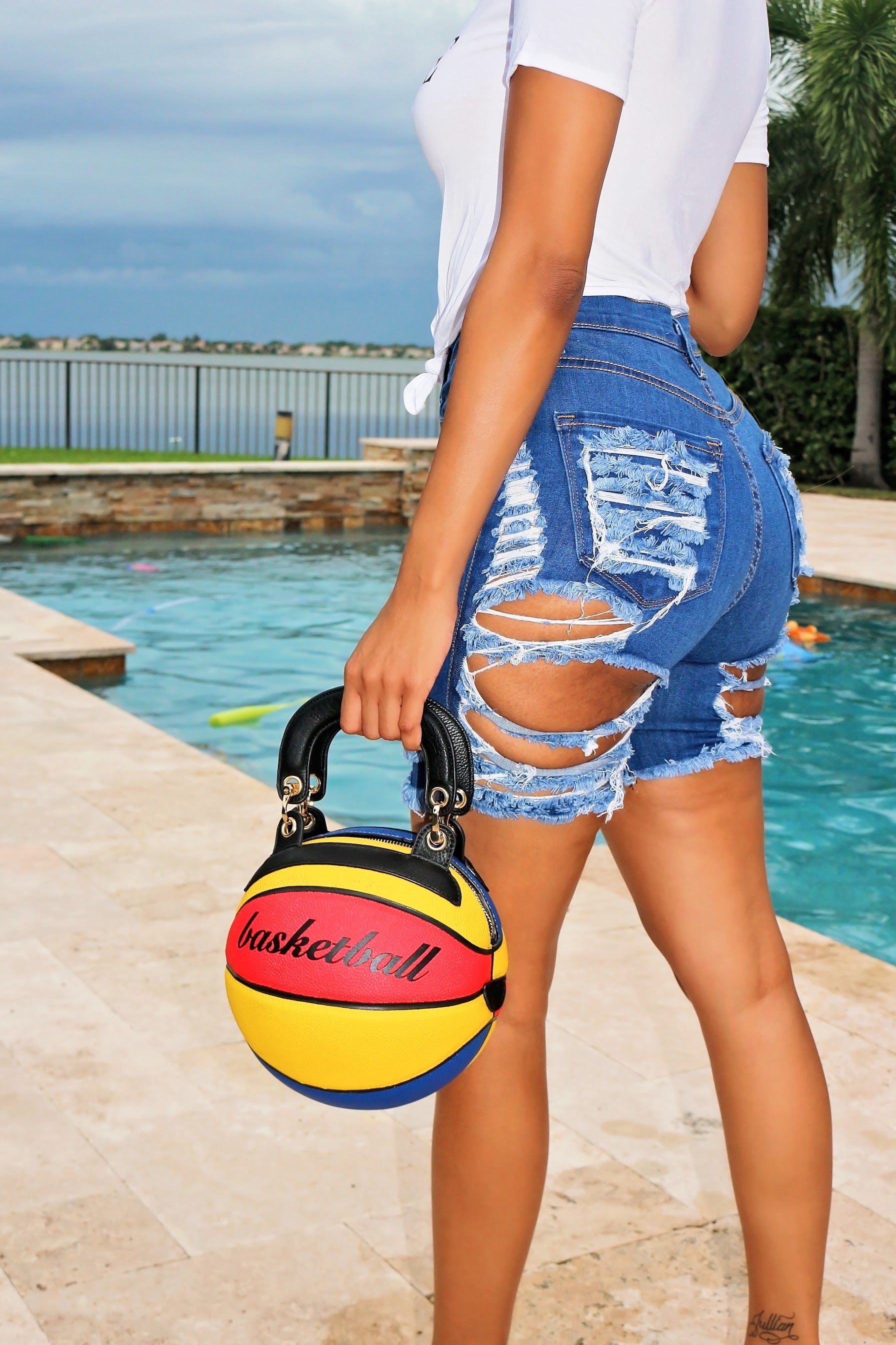 Bball swag -red and blue - Semai House Of fashion