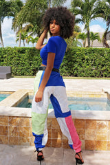 Boujee Top- Blue - Semai House Of fashion