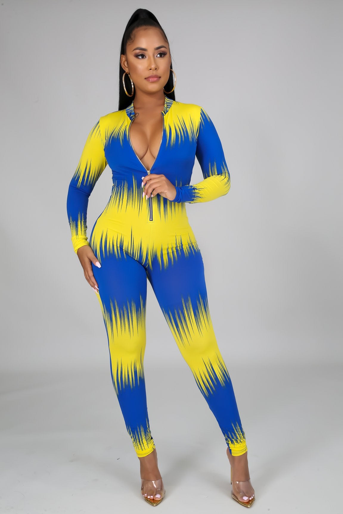 A jumpsuit Of two colors - Semai House Of fashion
