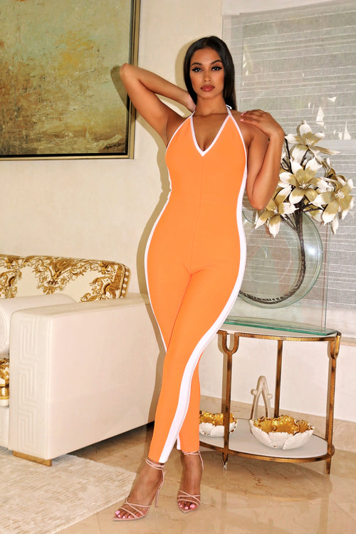 Super stretchy jumpsuit - Semai House Of fashion