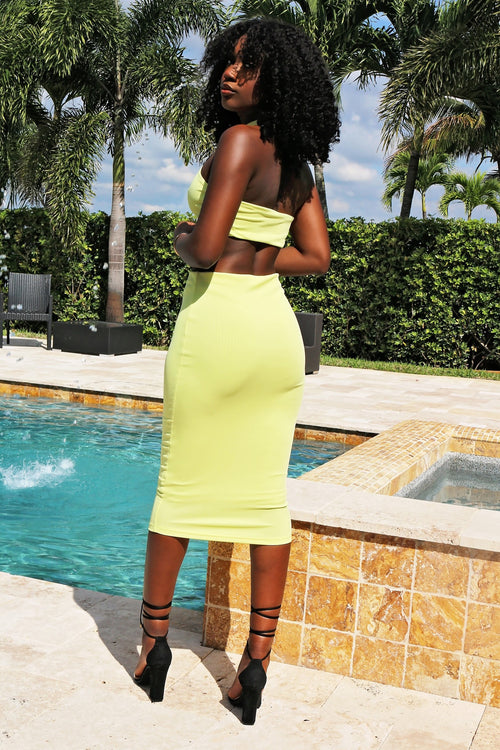 Views Yellow two Piece Set