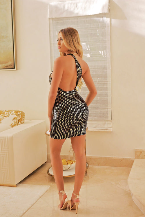 Sexy Not Shy - Mini Dress