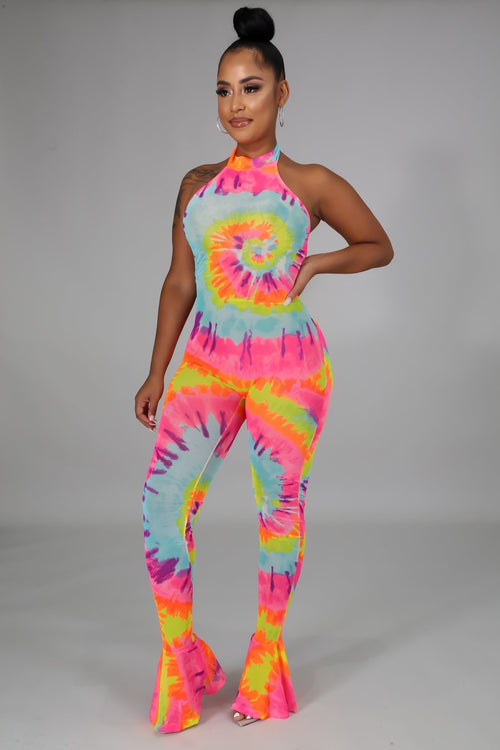 Put Some Color on me Jumpsuit
