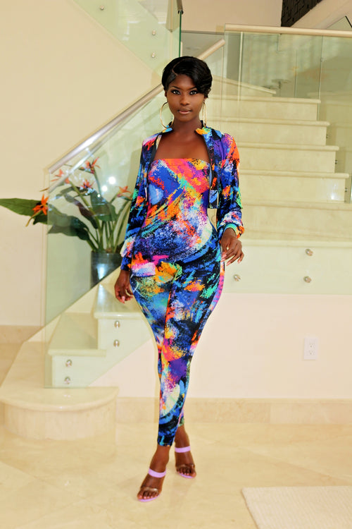 Strapless Jumpsuit - Semai House Of fashion