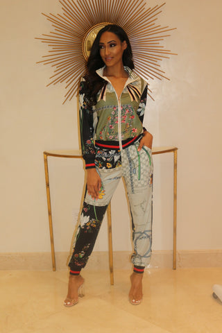 She's A Fashion Killa Pants Set - Multi