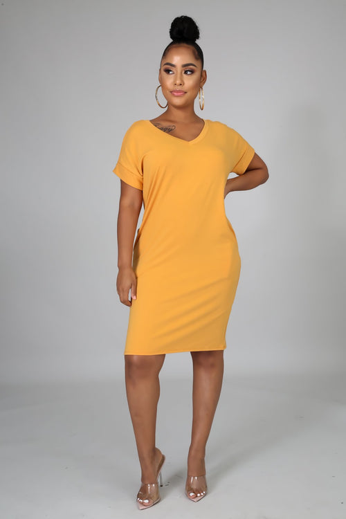 EVERYDAY T-SHIRT MINI DRESS - Semai House Of fashion