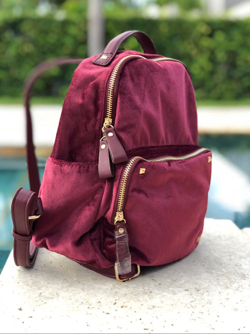 Softy Velvet BackPack
