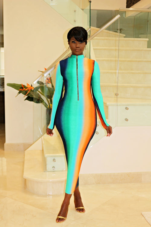 Wear It How You want it Maxi Dress - Semai House Of fashion