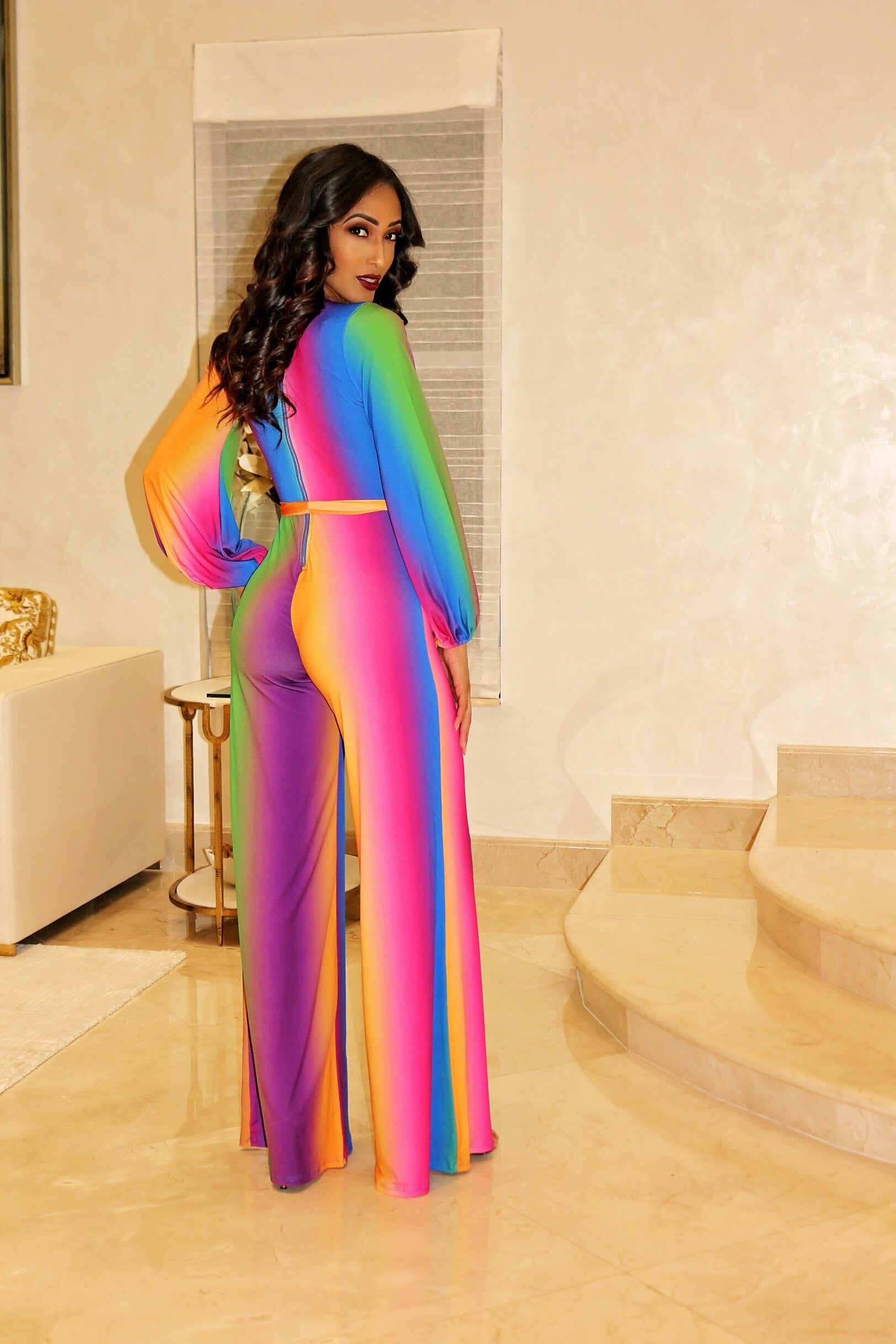 Don't Ignore Me Multi Color Jumpsuit - Semai House Of fashion