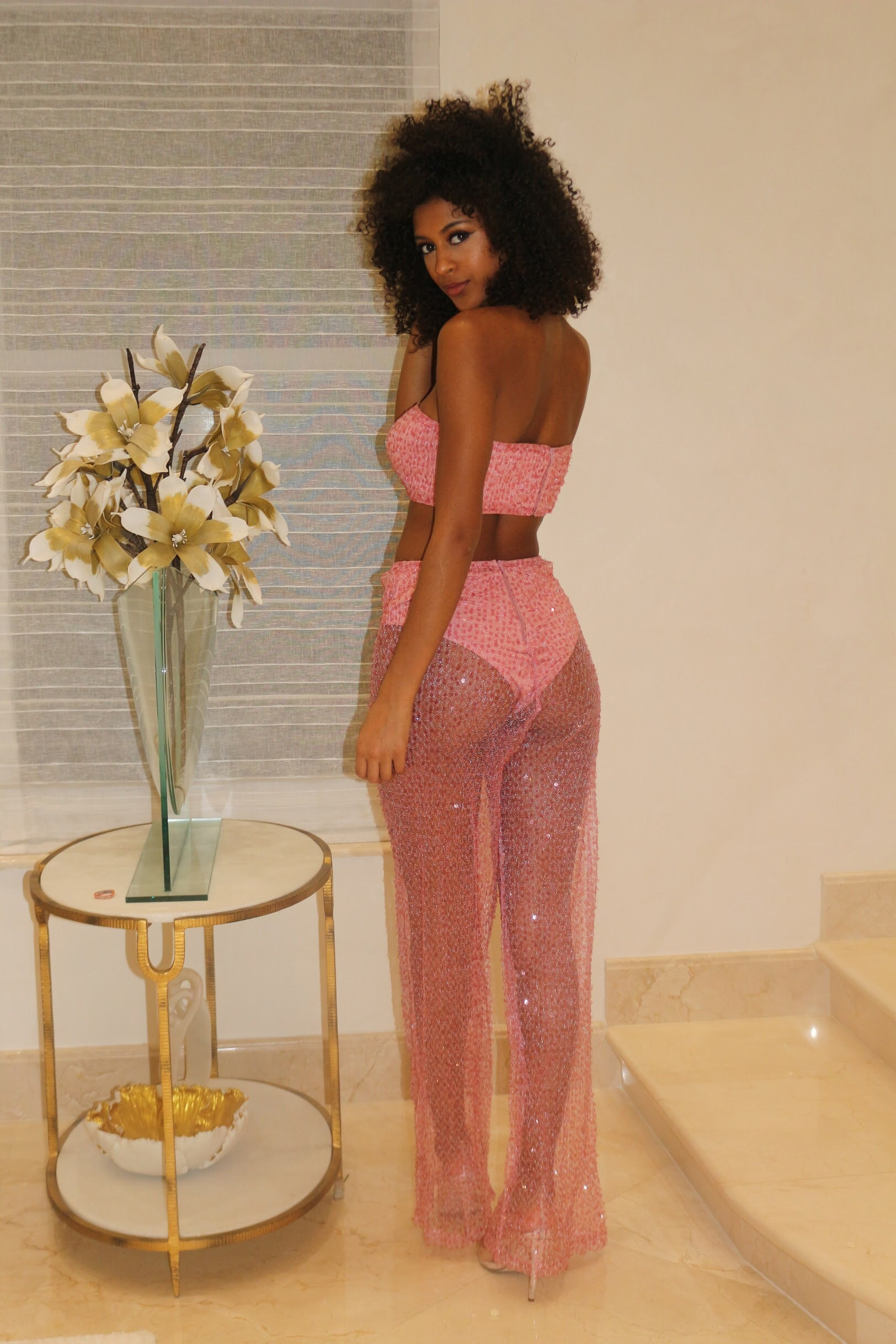 Cendy Showing Out Sequin Set - Semai House Of fashion