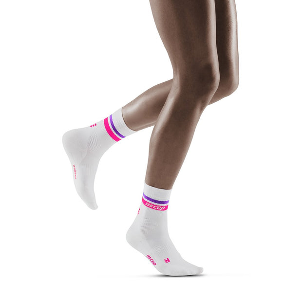 80's Mid Cut Compression Socks, Women
