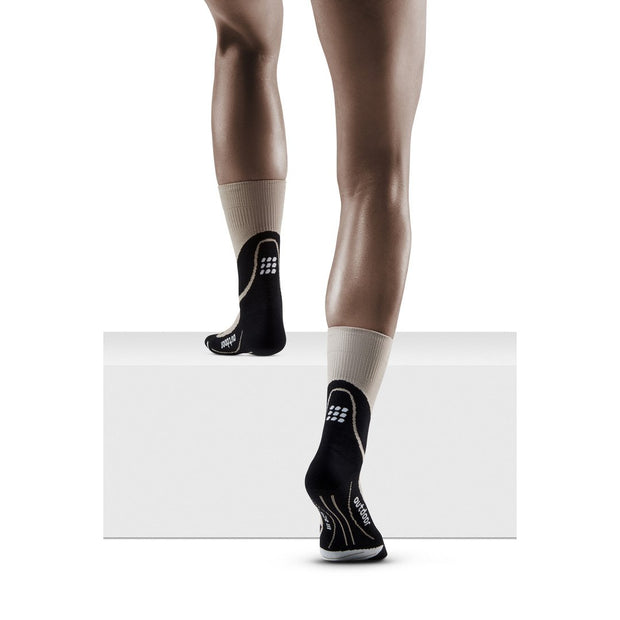 Outdoor Merino Mid Cut Compression Socks, Women