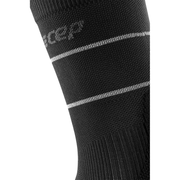 Reflective Mid Cut Compression Socks, Men