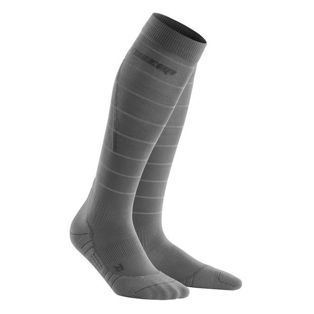 Reflective Tall Compression Socks, Women