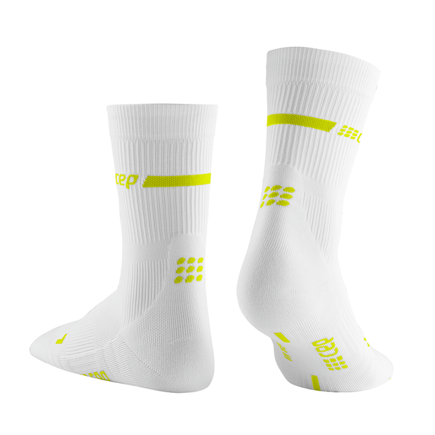 Neon Mid Cut Compression Socks, Women
