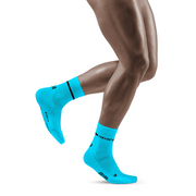 Neon Mid Cut Compression Socks, Men