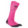 CEP Womens Running Compression Socks - Pink and black